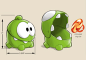 """Cut The Rope"" Toy Design"
