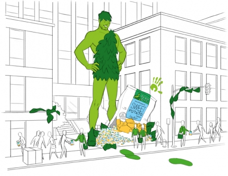 Green Giant FPO Comp Art Illustration for CPC Intersect