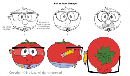 "Bob Turnarounds for ""Merry Larry"""