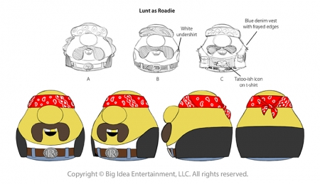 "Mr Lunt Turnarounds for ""Merry Larry"""