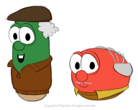 "Old Bob & Larry-""Celery Night Fever"""